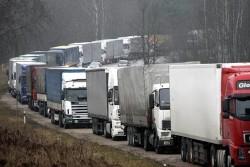 Блокада грузового транспорта на границе