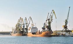 Значительно вырос грузооборот российских морских портов
