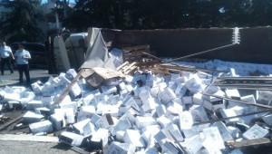 Страховой случай при перевозке грузов