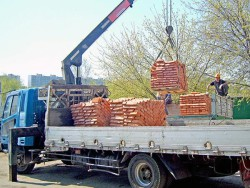 Услуга доставки строительных материалов