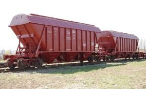 Перевозка зерновых хопперами