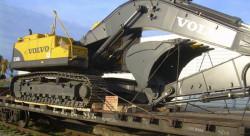 Доставка крупногабаритной техники железнодорожным транспортом