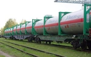 Наливные грузы в железнодорожных цистернах