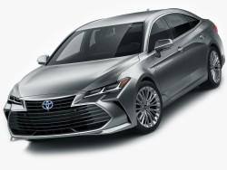 Toyota Avalon, и другие 3d модели