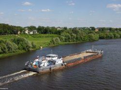 Активизация грузовых перевозок речным транспортом